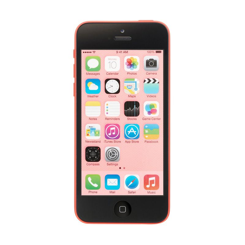Apple iPhone 5c 32 GB Pink Smartphone [Refurbished]
