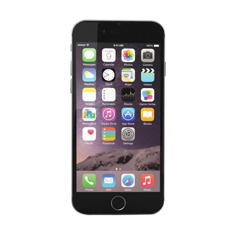 Diskon Apple iPhone 6 64GB Gray (Refurbish) Smartphone