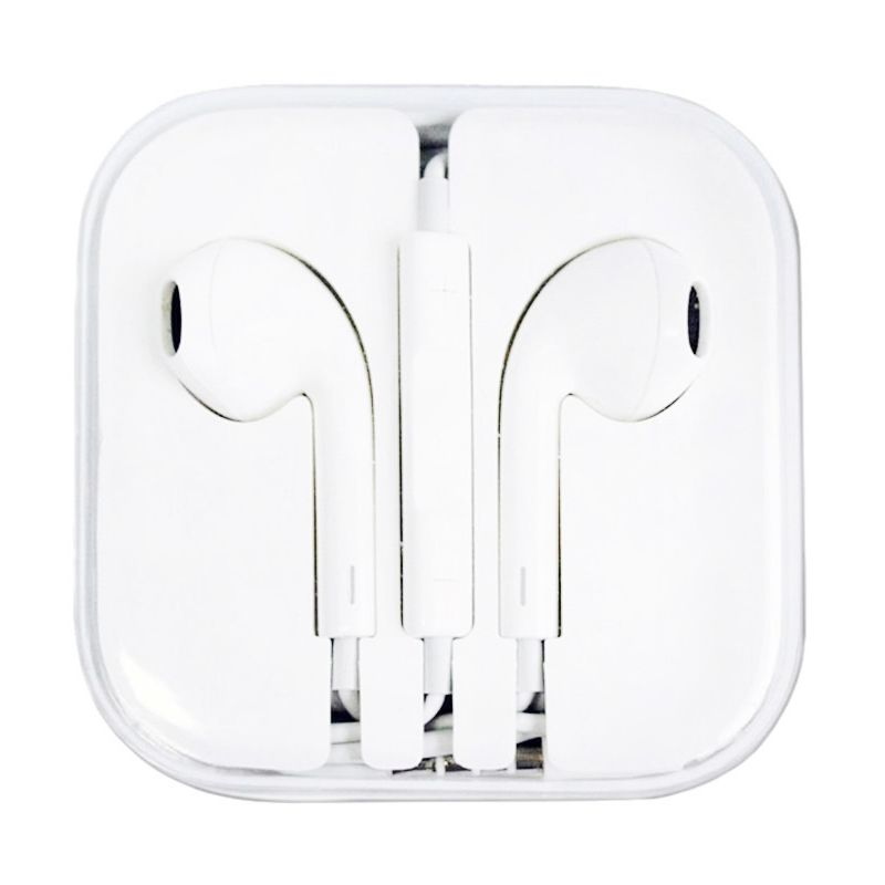 Apple Putih Earphone for iPhone