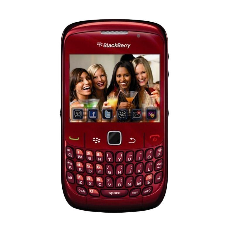 Blackberry Curve 8530 CDMA Red Smartphone