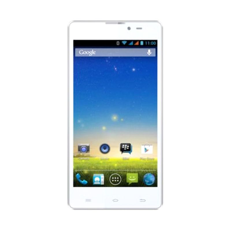 Evercoss A65A White Smartphone