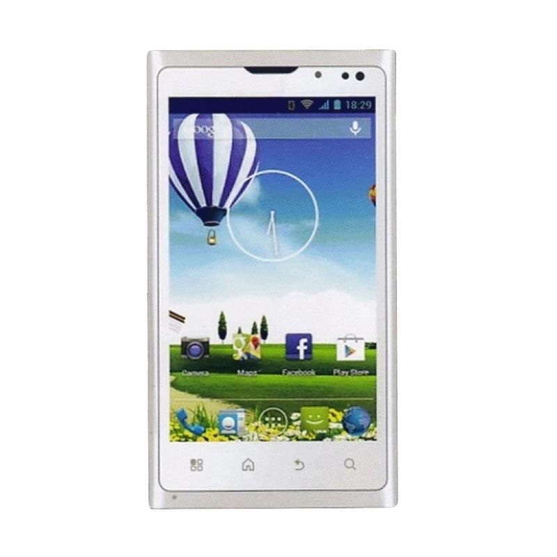 Evercoss A74B White Smartphone