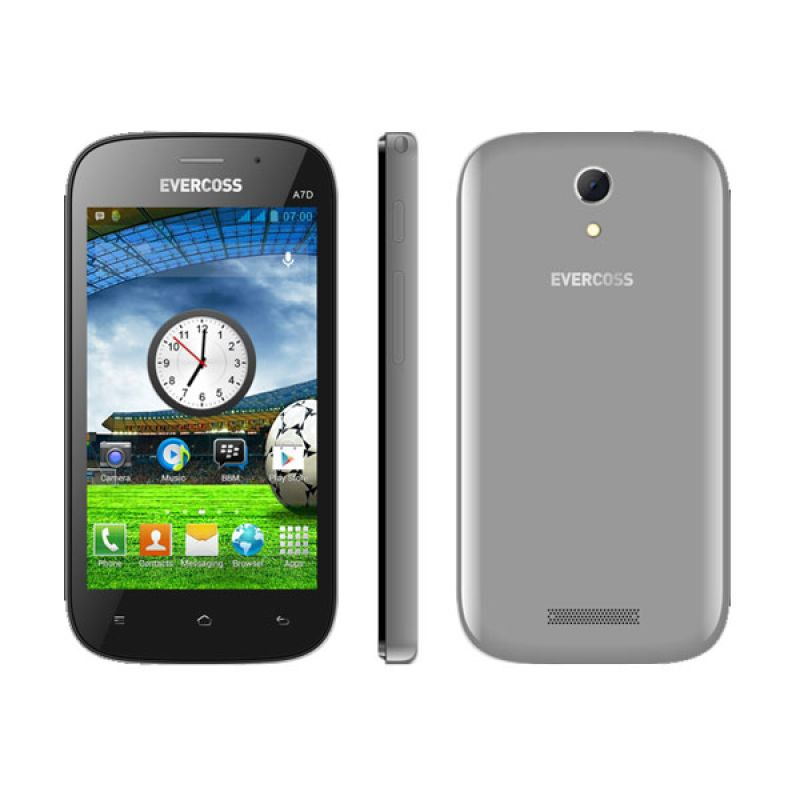 Evercoss A7D Grey Smartphone