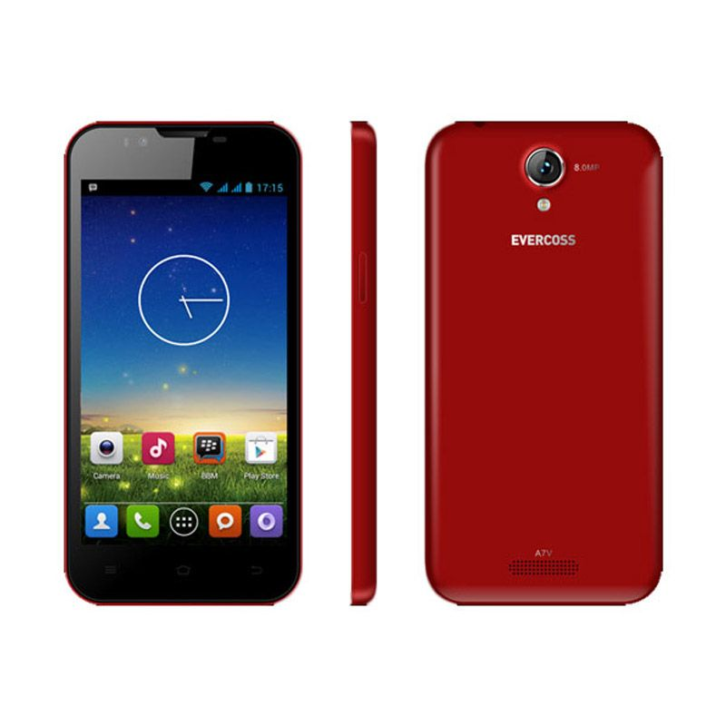 Evercoss A7V Red Smartphone