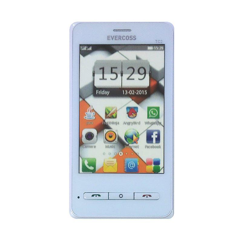 Evercoss TC2 White Smartphone