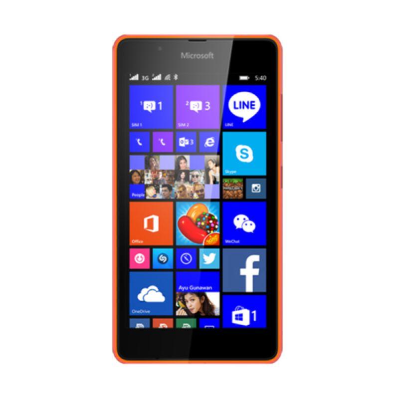 Microsoft Lumia 540 Orange Smartphone [Dual SIM]