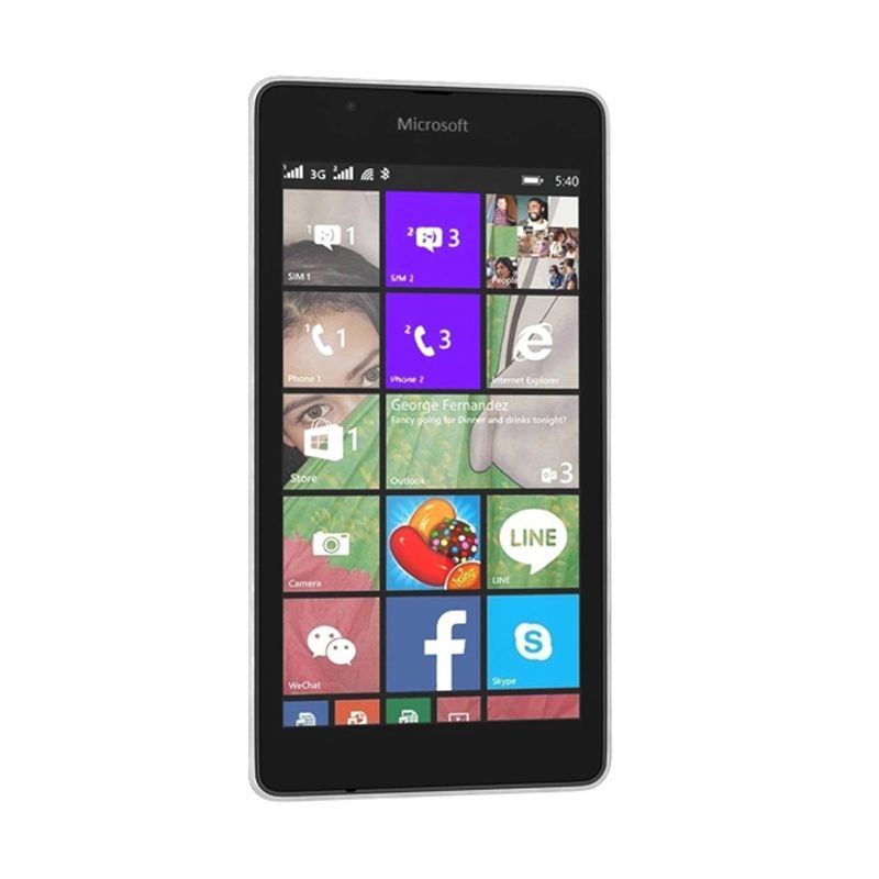 Microsoft Lumia 540 White Smartphone [Dual SIM]
