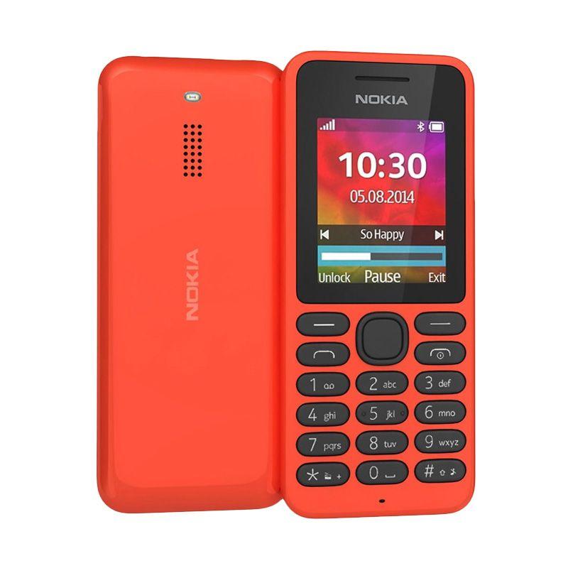 Nokia 130 Merah Handphone