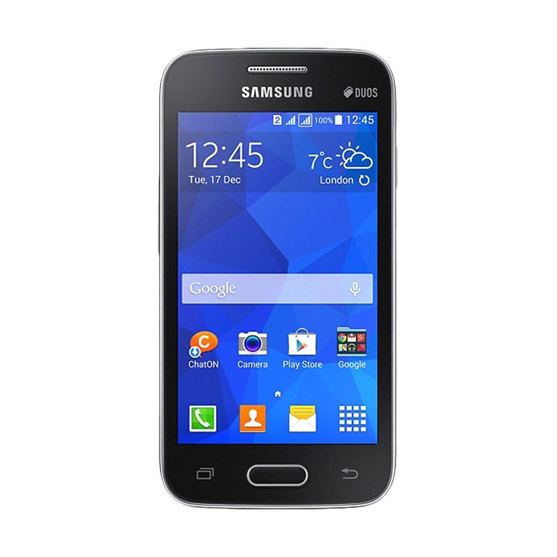 Samsung G318 V Plus Black Smartphone
