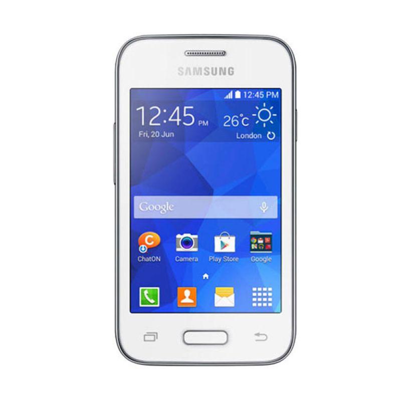 Samsung Galaxy Young 2 G130 Putih Smartphone