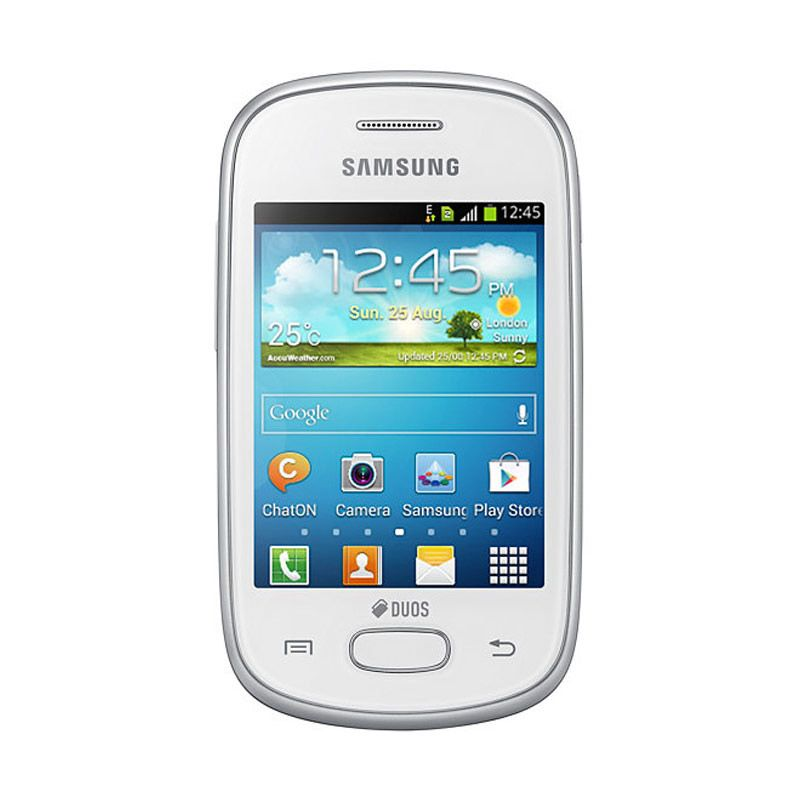 Samsung Galaxy Young New GT-S6310 Putih Smartphone