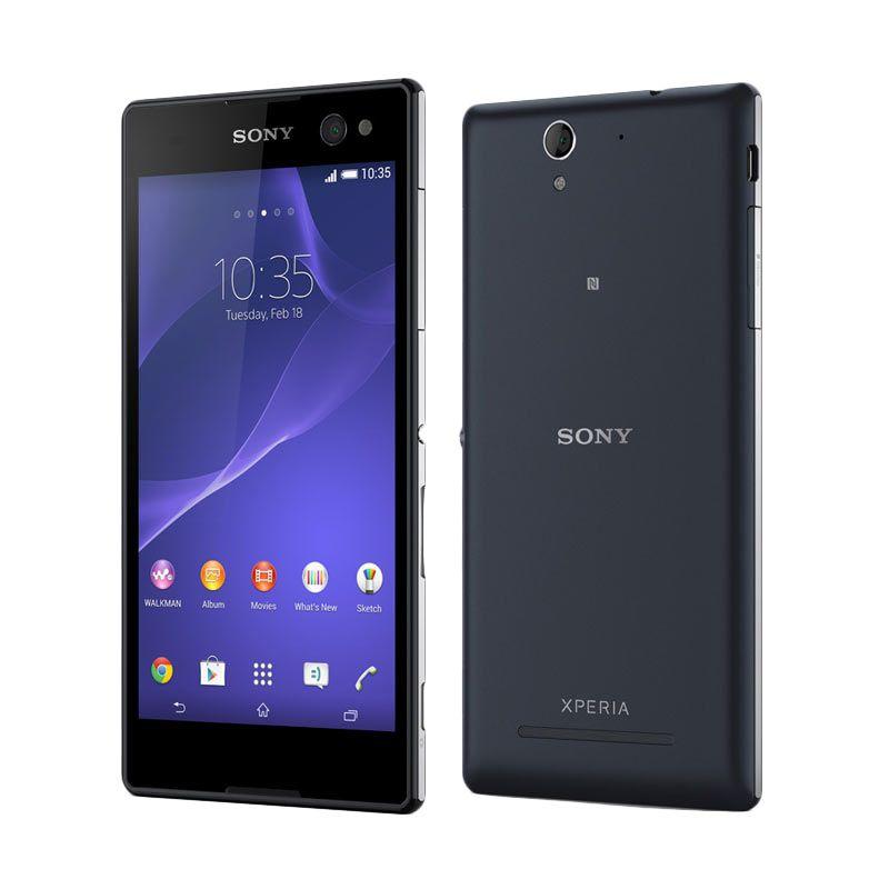 Sony Xperia C3 Hitam Smartphone [Dual SIM]