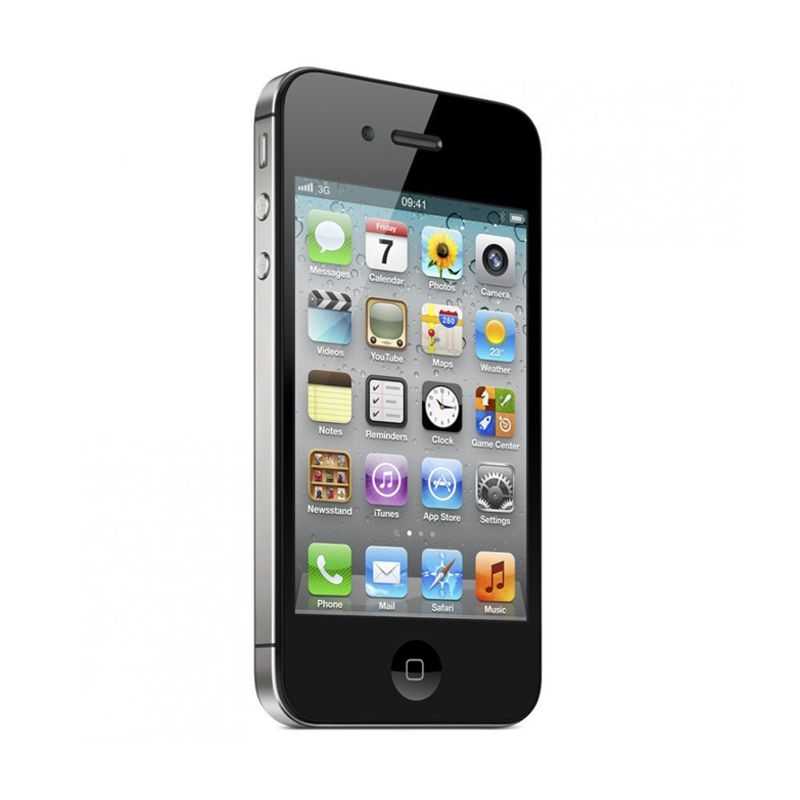 Apple iPhone 4S 64 GB Hitam Smartphone [Garansi Distributor]