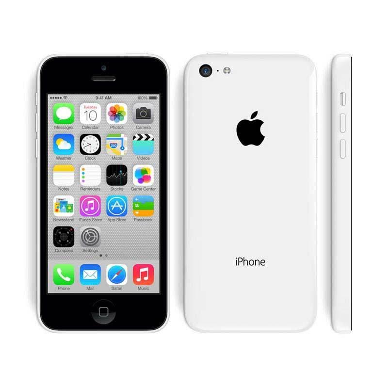 Apple iPhone 5C 16 GB Putih Smartphone [Refurbished Garansi Distributor]