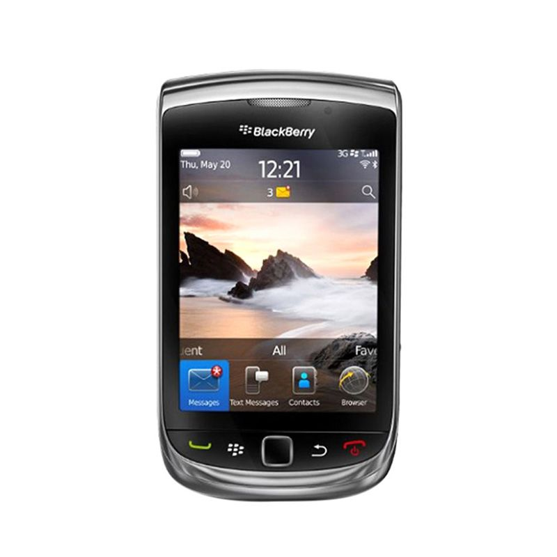 Blackberry Torch Jennings 9810 Grey Smartphone