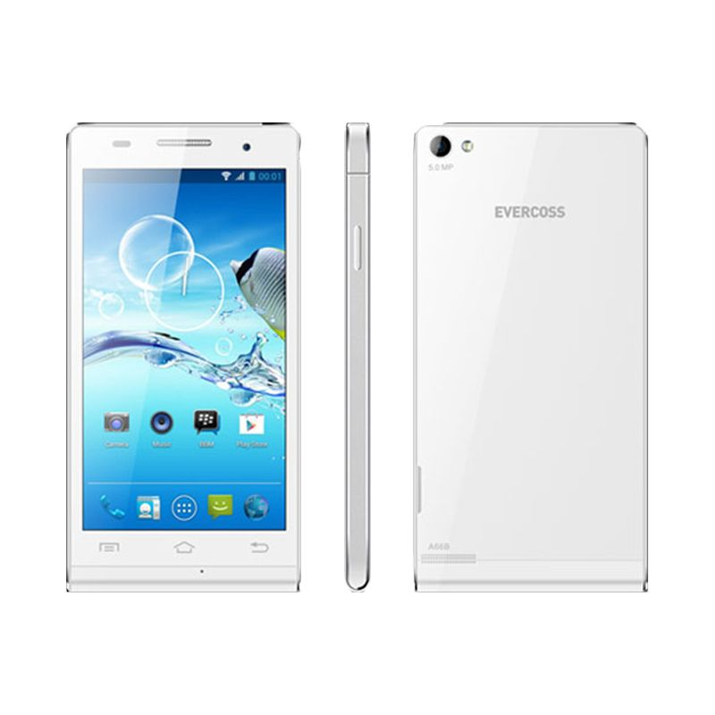 Evercoss A66B White Smartphone