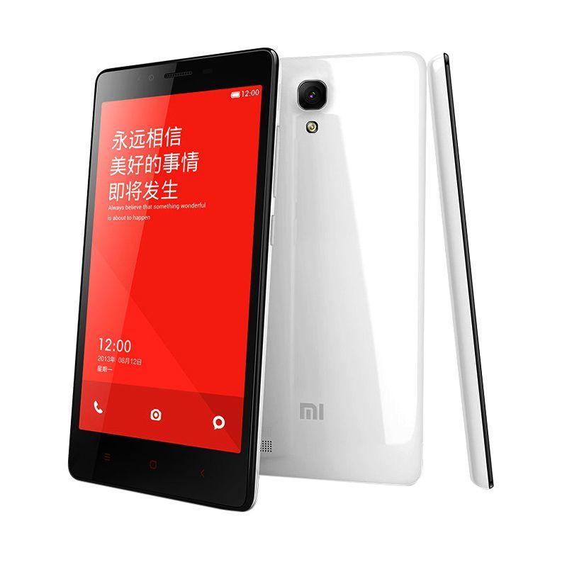 Xiaomi Redmi Note 4G Dual SIM White Smartphone