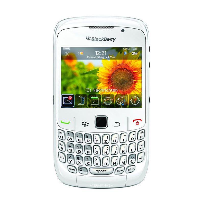 Blackberry Curve 8520 Gemini White Smartphone
