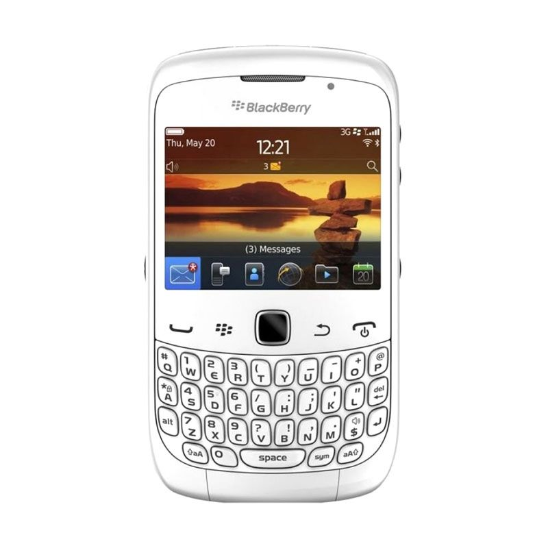 Blackberry Keppler 9300 Putih Smartphone