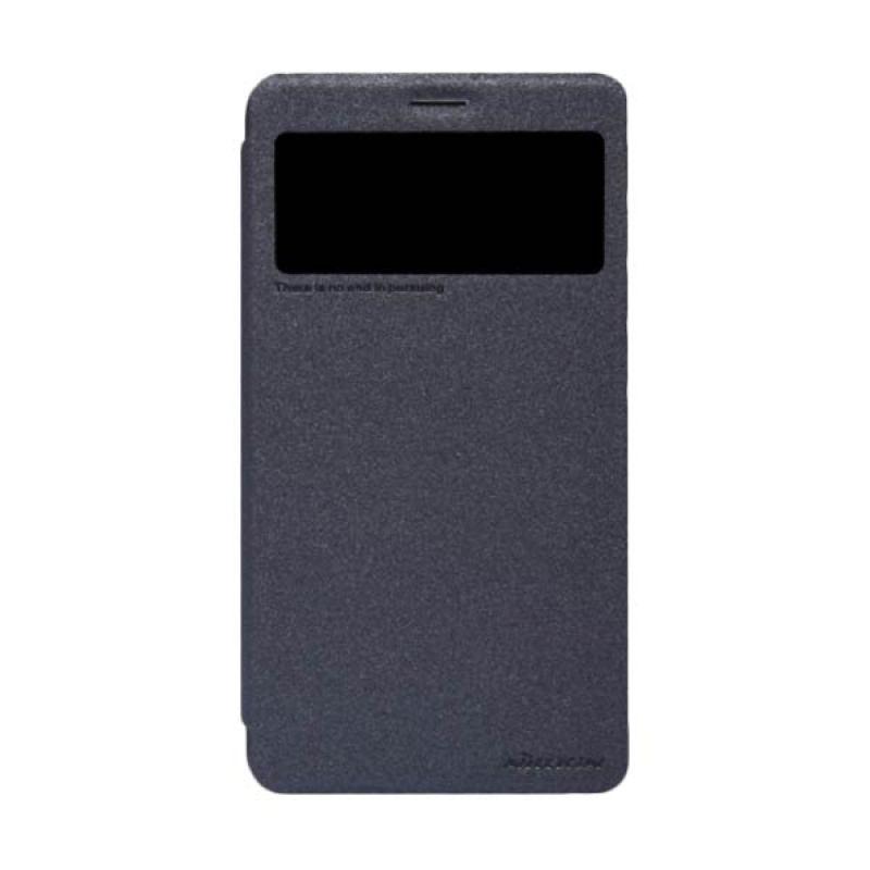 Nillkin Sparkle Leather Black Casing for Vivo Xplay 3S