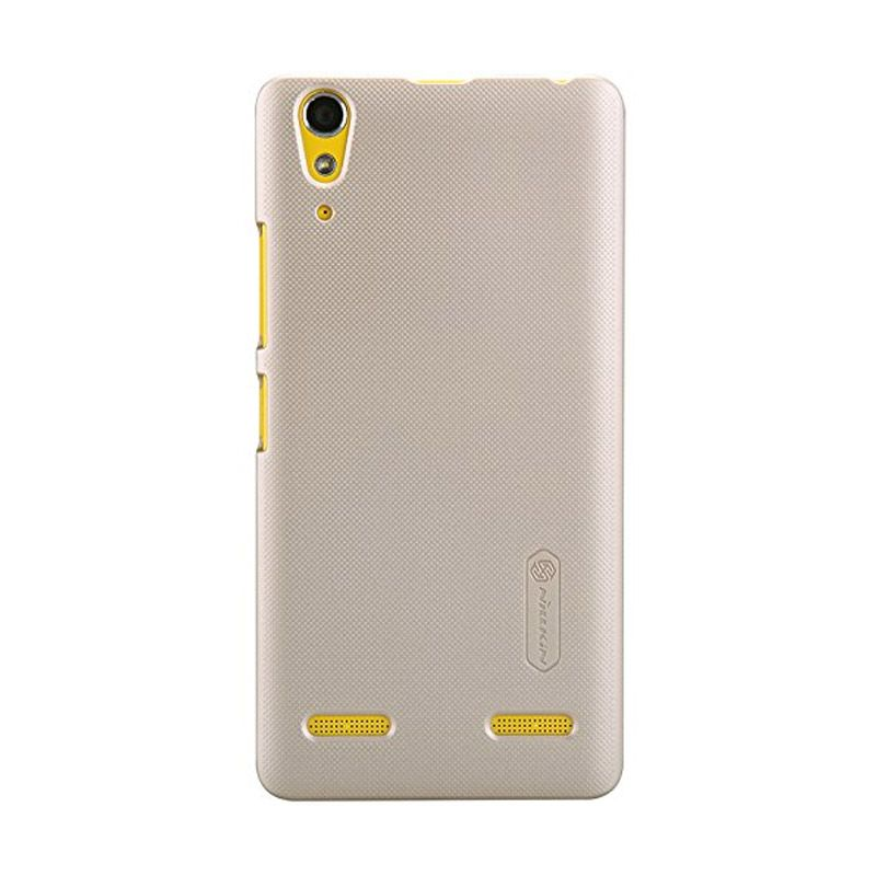 Nillkin Super Frosted Shield Gold Casing for Lenovo K3 A6000