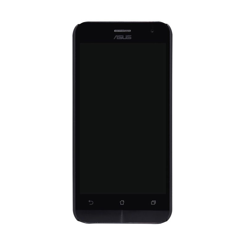 Nillkin Super Frosted Shield Hitam Casing for Asus Zenfone 2 ZE500CL + Screen Protector