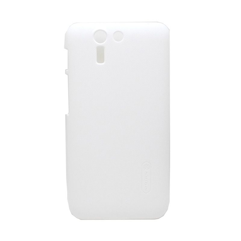 Nillkin Super Frosted Shield Putih Casing for Asus Padfone S + Screen Protector