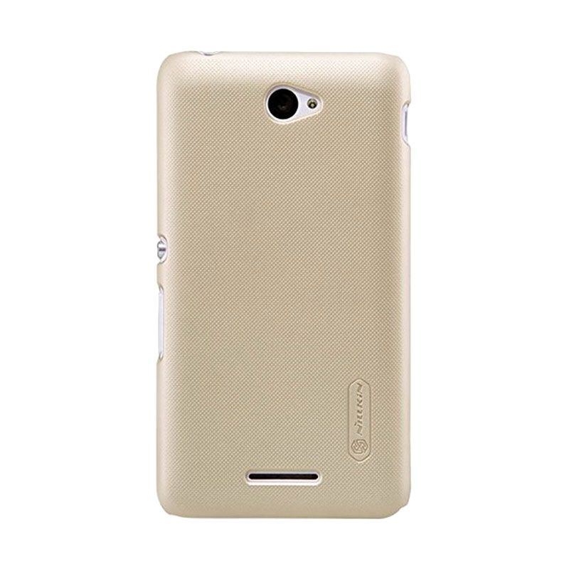 Nillkin Super Frosted Shield Gold Casing for Sony Xperia E4