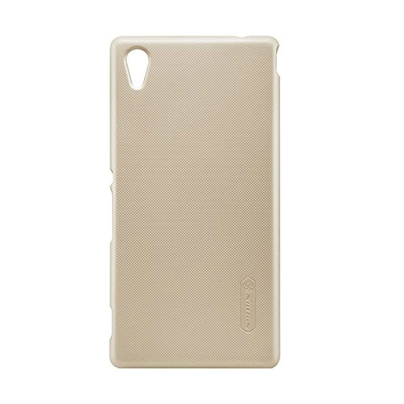 Nillkin Super Frosted Shield Gold Casing for Sony Xperia M4 Aqua