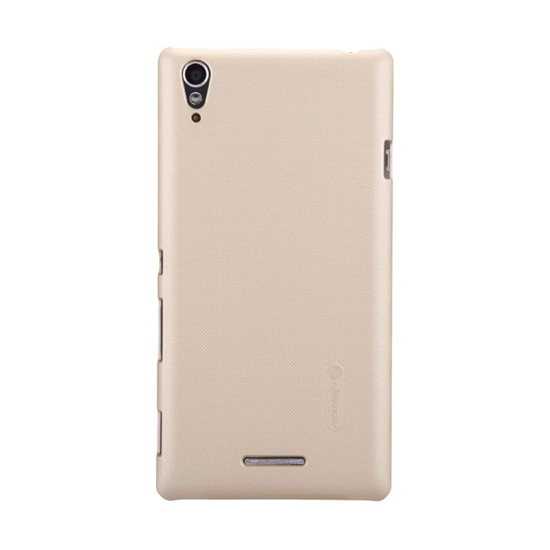Nillkin Super Frosted Shield Gold Casing for Sony Xperia T3