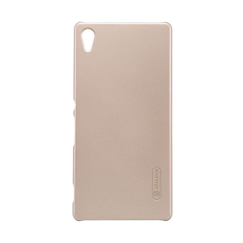 Nillkin Super Frosted Shield Gold Casing for Sony Xperia Z4