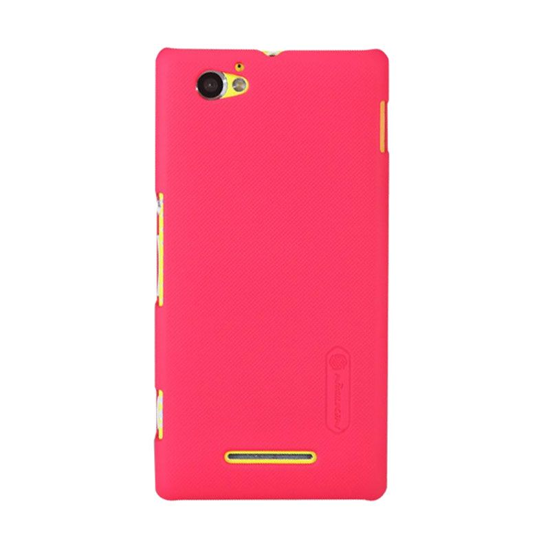 Nillkin Super Frosted Shield Red Casing for Sony Xperia M