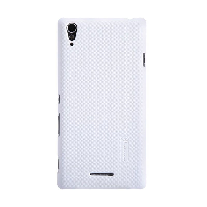 Nillkin Super Frosted Shield White Casing for Sony Xperia T3