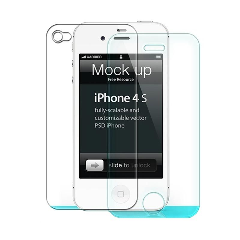 NILLKIN Anti Explosion (H) Tempered Glass Skin Protector for iPhone 4 or 4s