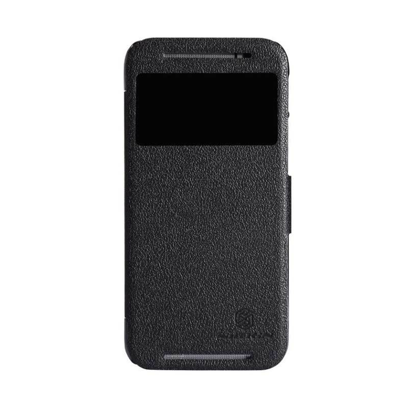 Nillkin Fresh Leather Black Casing for HTC One M8