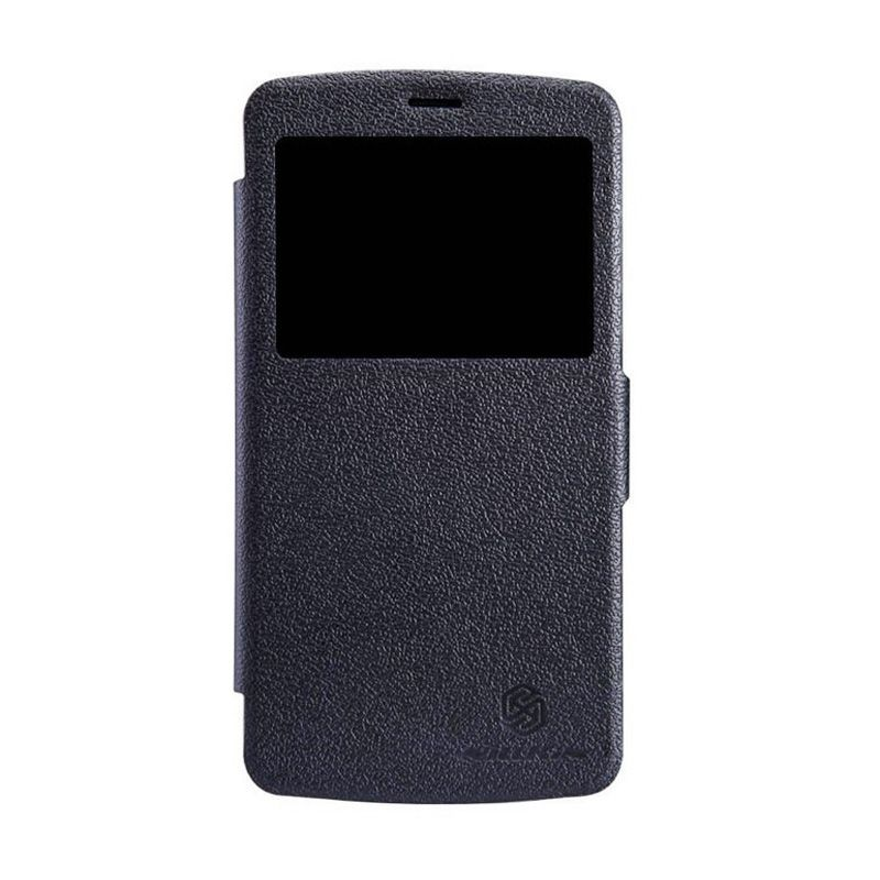 Nillkin Fresh Leather Black Casing for Huawei G630
