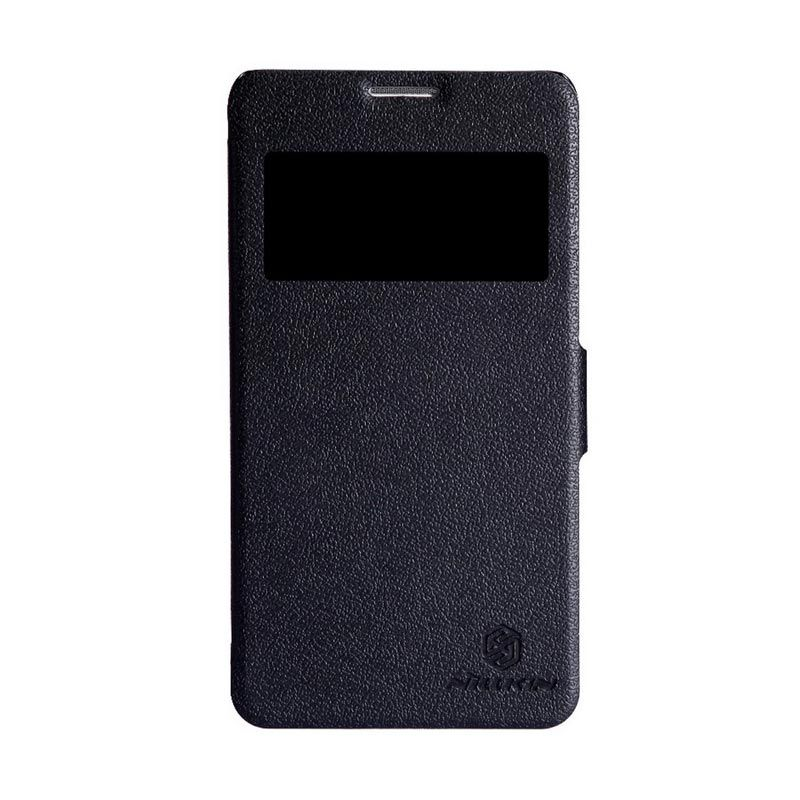 Nillkin Fresh Leather Black Casing for Huawei Honor 3X