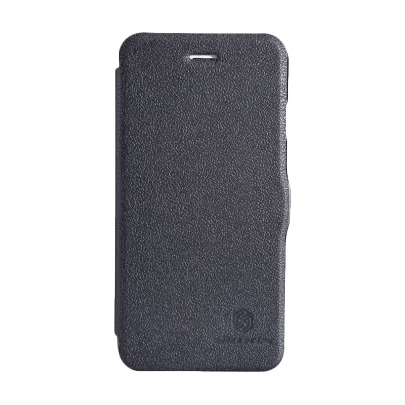 Nillkin Fresh Leather Black Casing for iPhone 6 Plus or 6s Plus