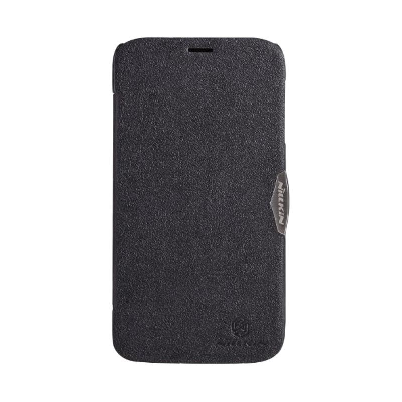 Nillkin Fresh Leather Black Casing for Lenovo A850