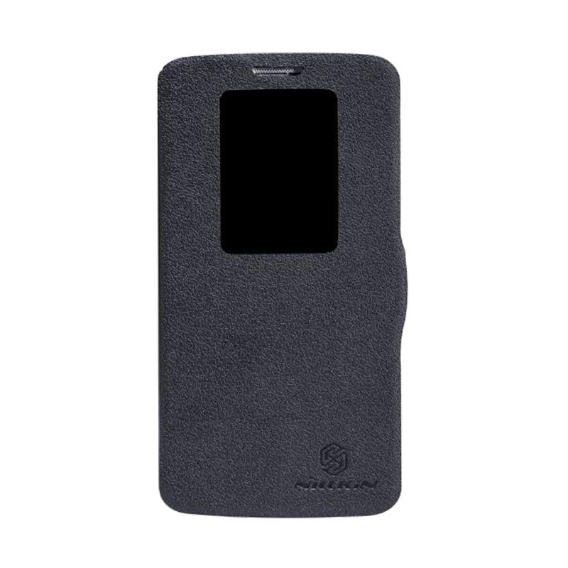 Nillkin Fresh Leather Black Casing for LG Optimus G2 D802