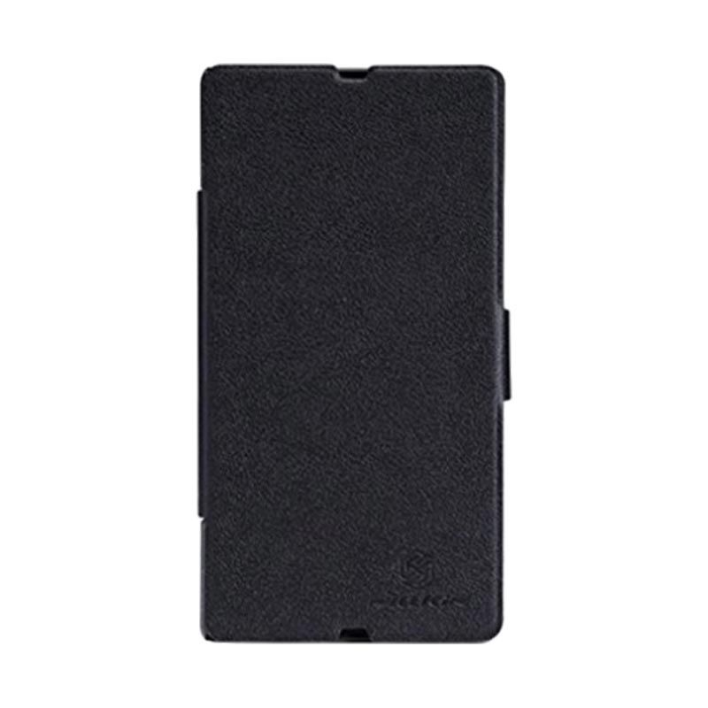 Nillkin Fresh Leather Black Casing for Sony Xperia Z L36h