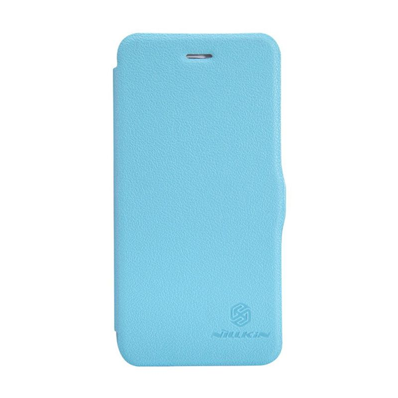 Nillkin Fresh Leather Blue Casing for iPhone 6 Plus or 6s Plus