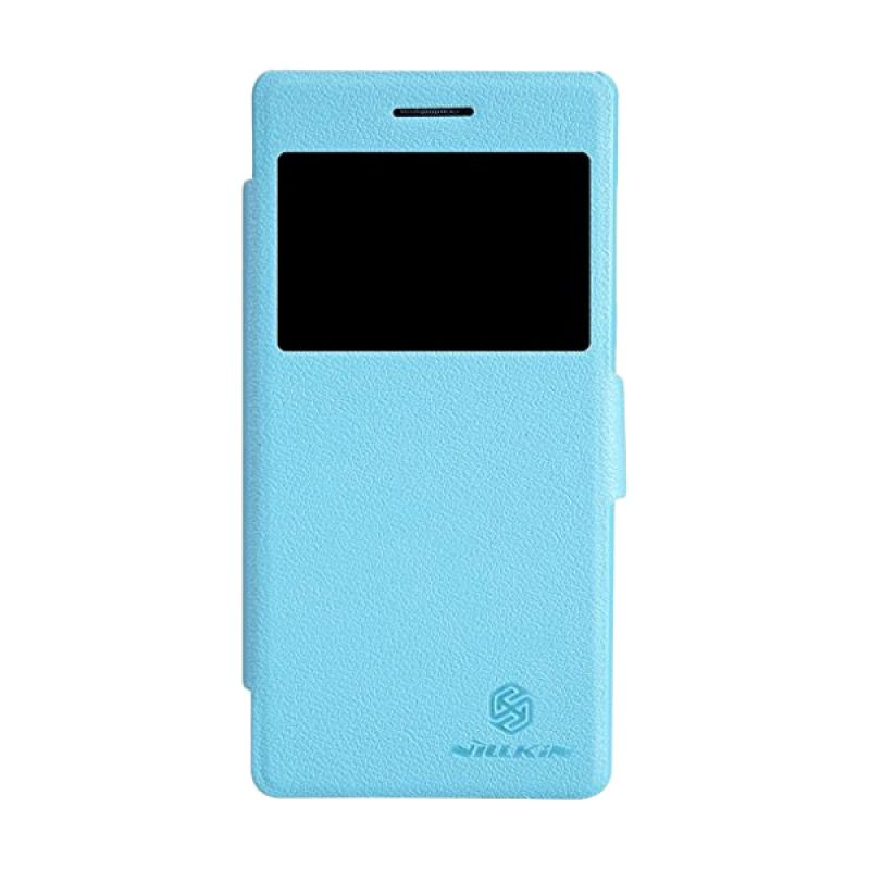 Nillkin Fresh Leather Blue Casing for Lenovo Vibe X2