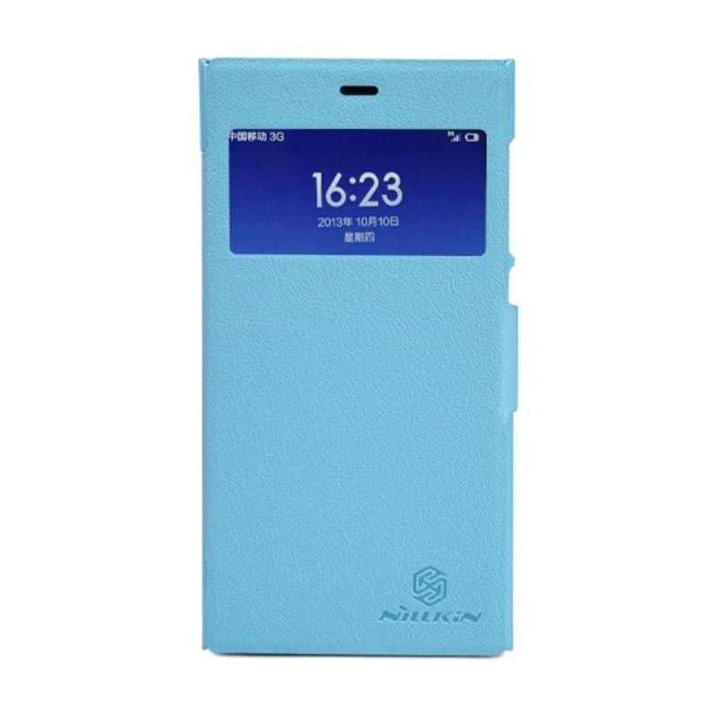 Nillkin Fresh Leather Blue Casing for Xiaomi Mi3