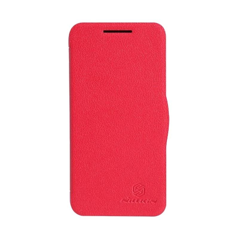 Nillkin Fresh Leather Red Casing for HTC Desire 300 301e