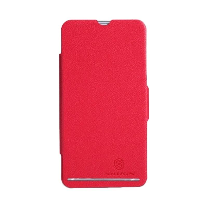 Nillkin Fresh Leather Red Casing for Sony Xperia SP M35h