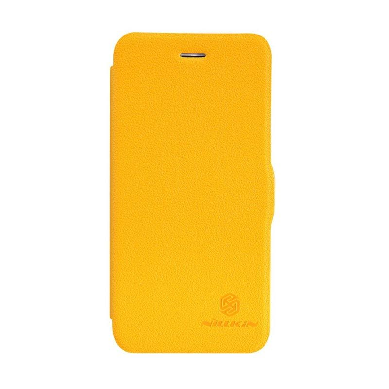 Nillkin Fresh Leather Yellow Casing for iPhone 6 or 6s