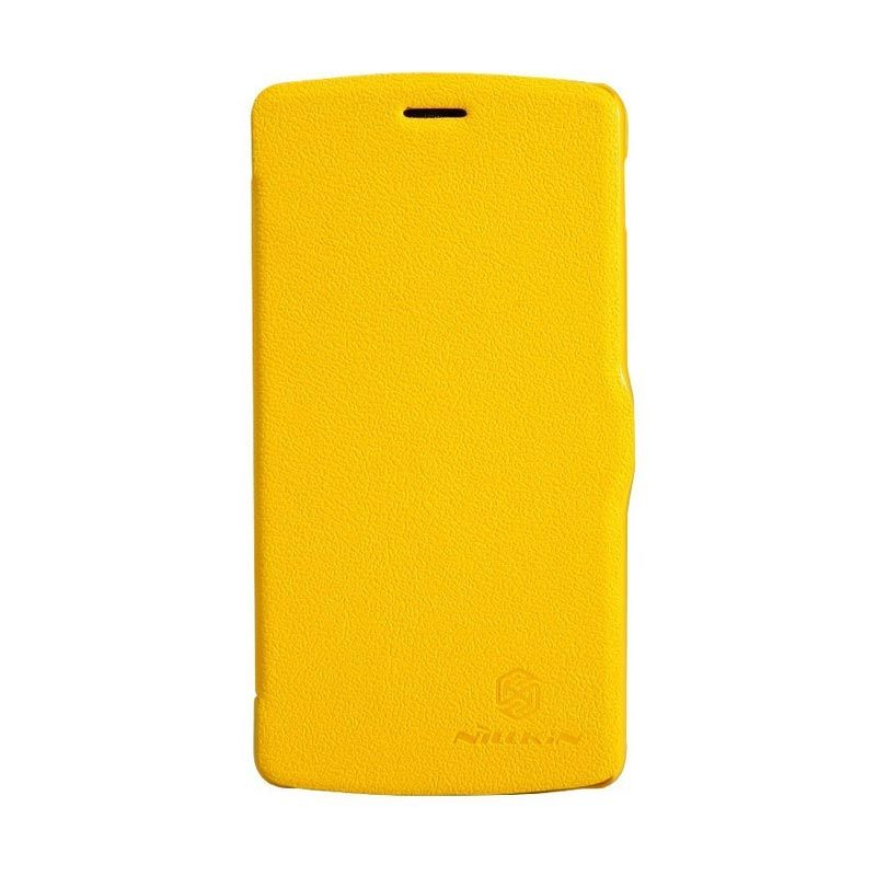 Nillkin Fresh Leather Yellow Casing for LG Nexus 5 D820