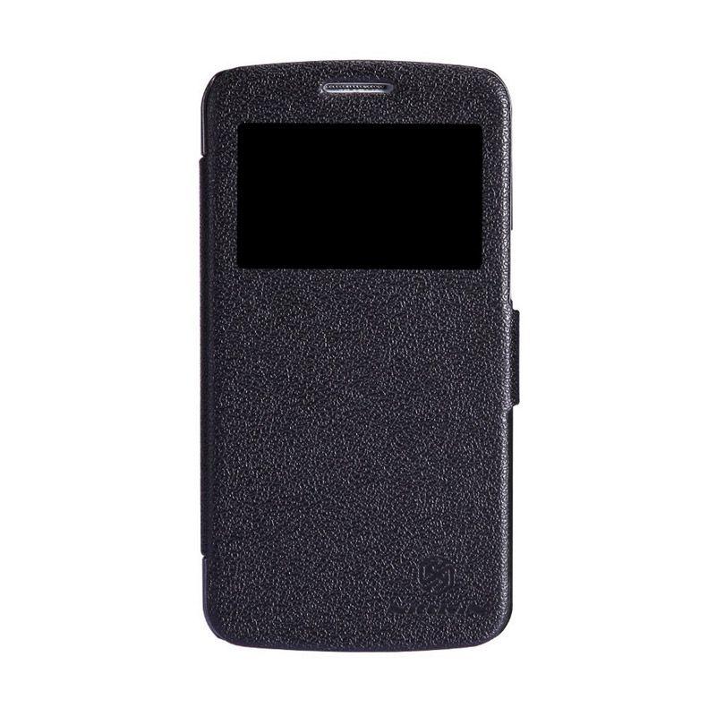 NILLKIN Fresh Series Leather Case Black Casing for Samsung Galaxy Grand 2 G7102/G7106