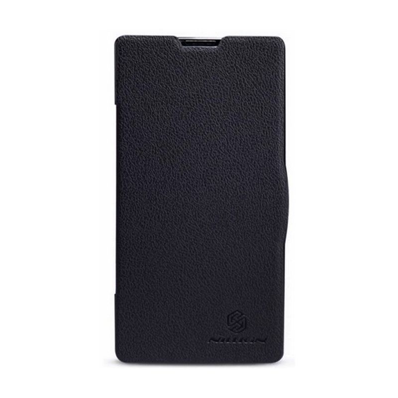 NILLKIN Fresh Series Leather Case Black Casing for Xiaomi Redmi 1s